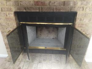 prefab fireplace